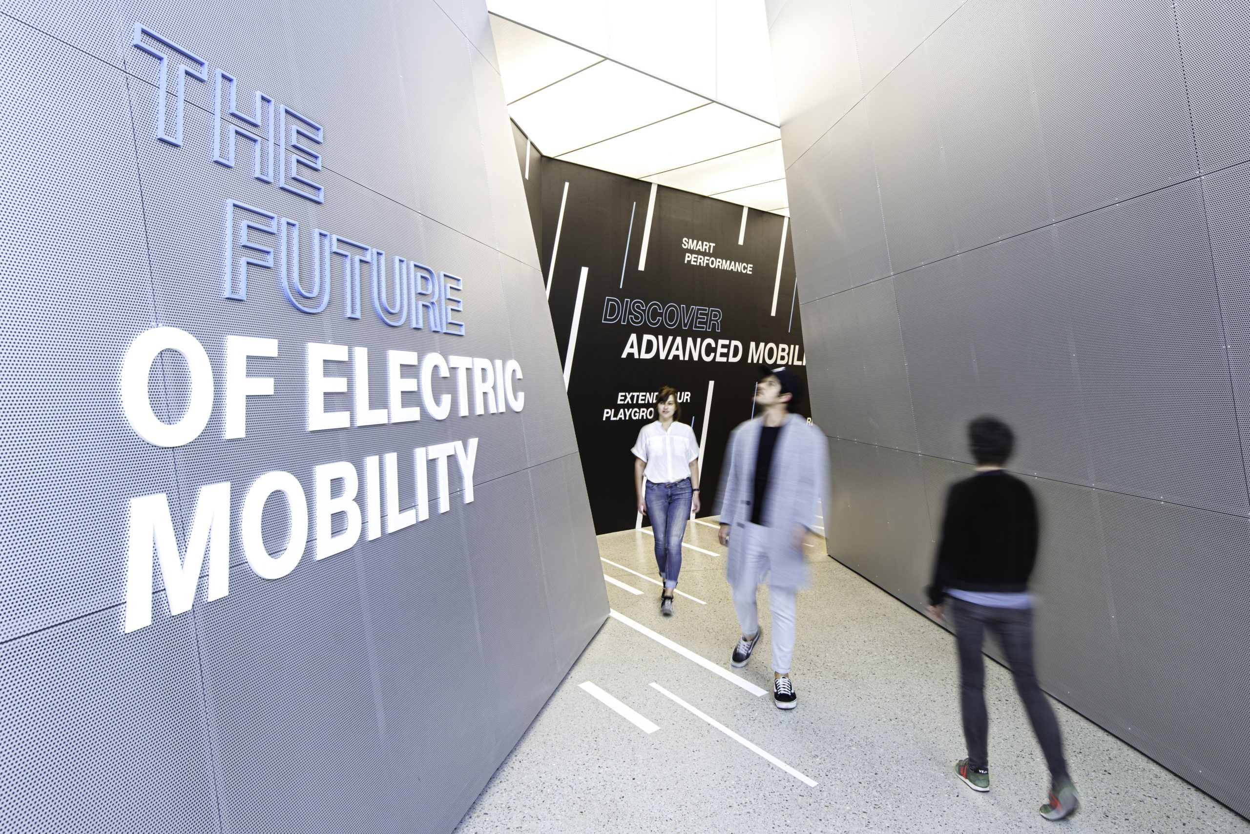 "Sonderausstellung ""THE FUTURE OF ELECTRIC MOBILITY"""
